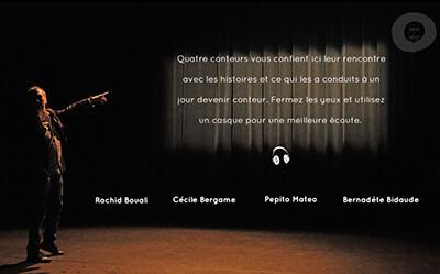 Webdoc Arts du Récit