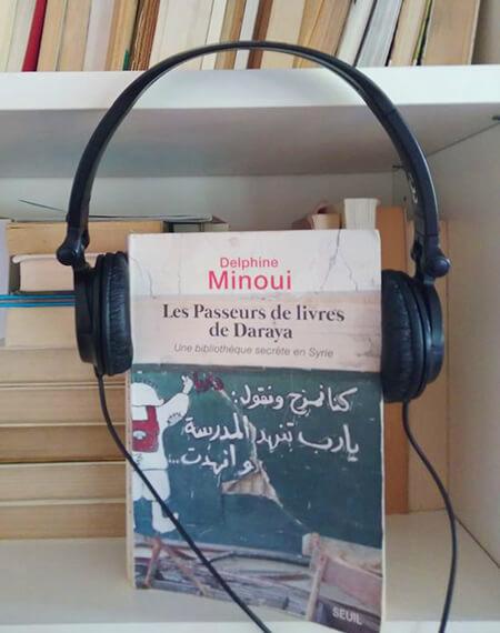 Passeurs le livres de Daraya